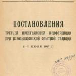 3-я крестьянская конференция июль 1927 г. - 1