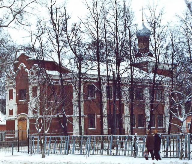 Храм во второй половине 1990-х годов. Фото: А.Карпов