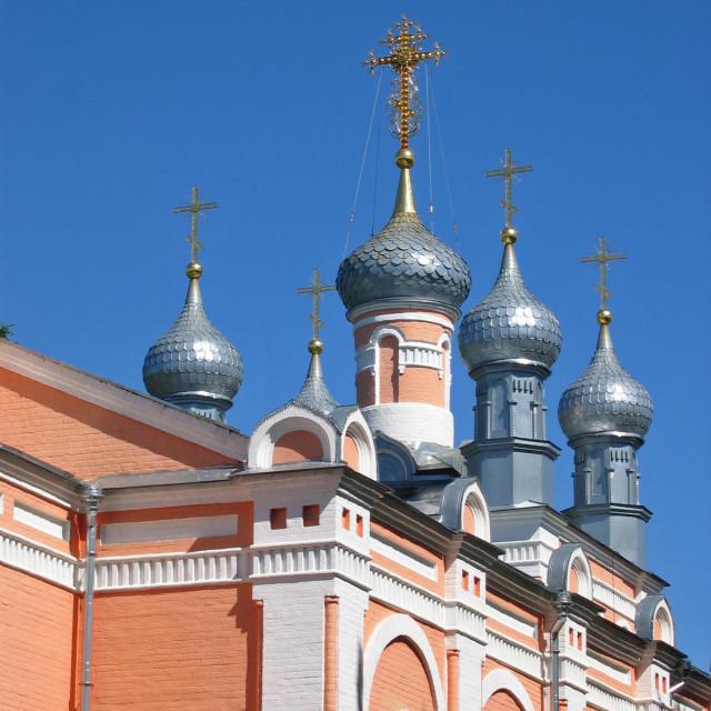 Купола Свято-Троицкого храма, 2005 г. Фото: А.Карпов