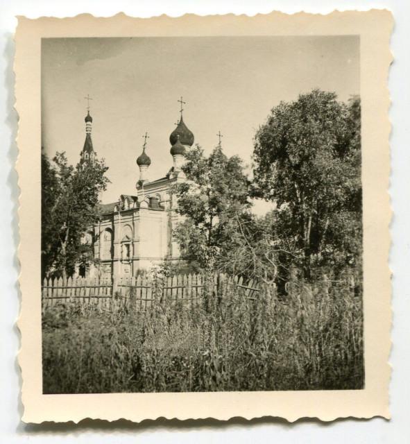 Храм во имя Святой Троицы в Новозыбкове в годы оккупации