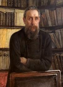 Профессор Костычев Павел Андреевич. Художник Ге Н.Н.