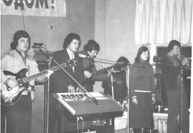 Второй слева - В.Гончаров