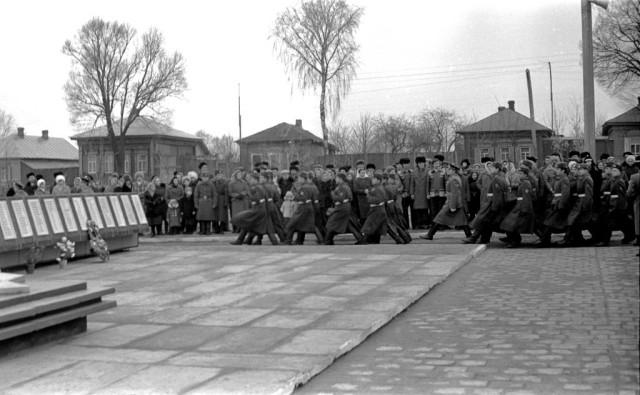 Открытие монумента. 1978 г.