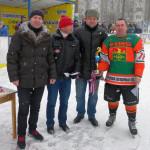 Награждение команды Клинцов