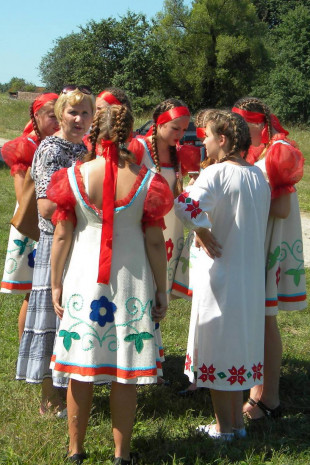 Участники праздника