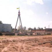 Строительство сквера Дружбы славянских народов, 2003 г., фото: А.Карпов