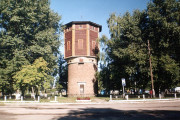 Башня в привокзальном сквере, 2003 г.