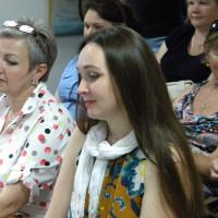 Ирина Грабор среди зрителей