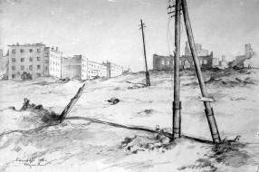 Сталинград. 1942. Худ. П.А.Чернышевский