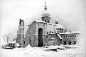 Киево-Печерская лавра. Худ. П.А.Чернышевский