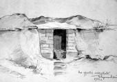 Моя фронтовая мастерская. 1944. Худ. П.А.Чернышевский