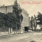 Женская гимназия (ныне - школа №1) на дореволюционной открытке