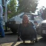 Бабушка и таксисты